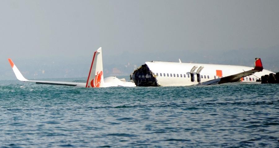 Chuyến bay Lion Air 904 bị rơi trên biển ngoài khơi Bali năm 2013