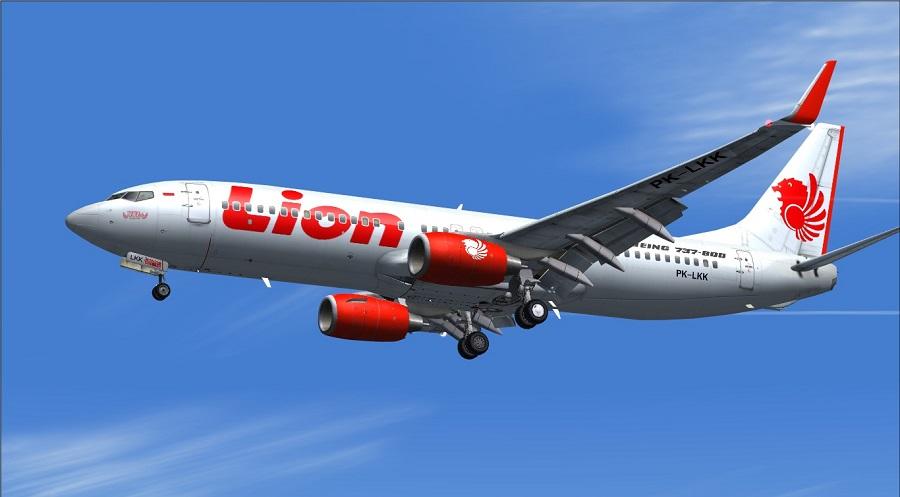 Một chiếc máy bay của hãng Lion Air.