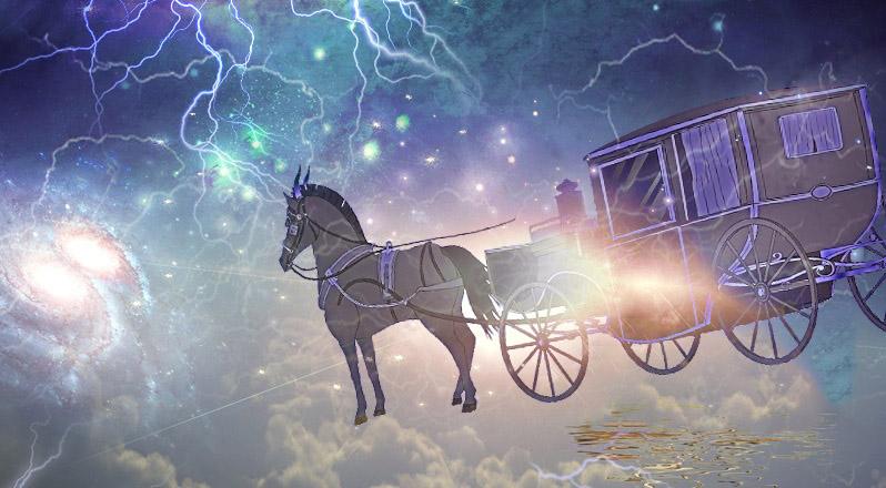 Người đánh xe ngựa thế kỷ 18 xuyên thời không đến thế kỷ 20 - ảnh 1