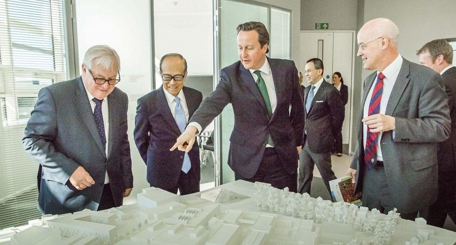Lý Gia Thành đầu tư vào Anh và nhiều nước châu Âu khác