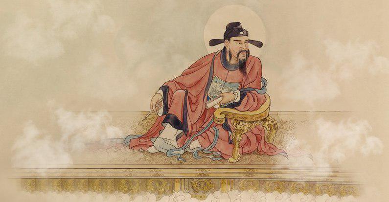 Văn Xương Đế Quân, Quan Thánh Đế Quân cùng Khổng Phu Tử chấm bài thi.