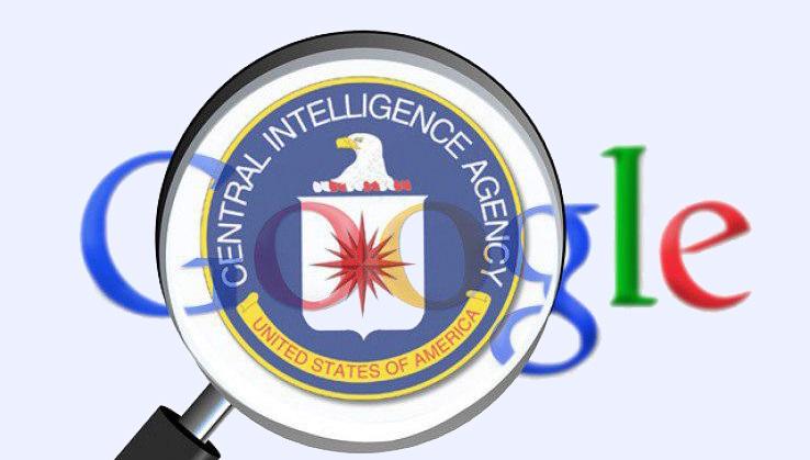 Nguồn gốc của Google có liên quan chặt chẽ với CIA và NSA.