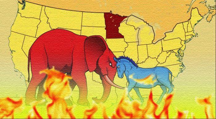 """Liệu Tổng thống Trump có thể """"cảm hóa"""" được Minnesota?1"""
