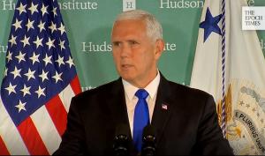 Bài phát biểu của phó Chủ tịch Pence đã chọc giận nhiều người