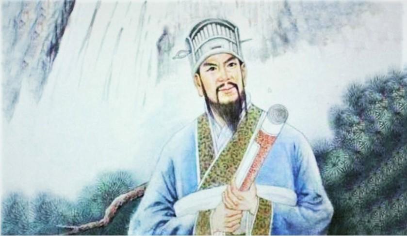 Chân dung Lưu Bá Ôn. (Tranh qua  read01.com)