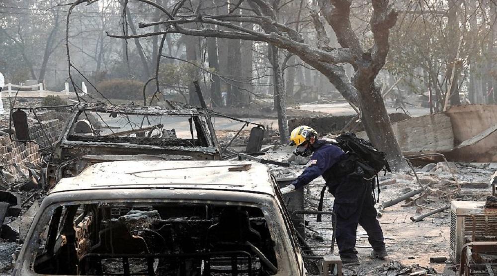 Sau cháy rừng, California phải đối mặt với các nguy cơ từ mưa lớn. (Ảnh: Internet)