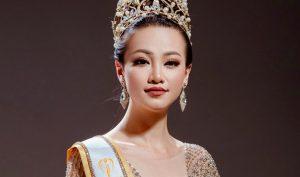 Hoa hậu Nguyễn Phương Khánh.