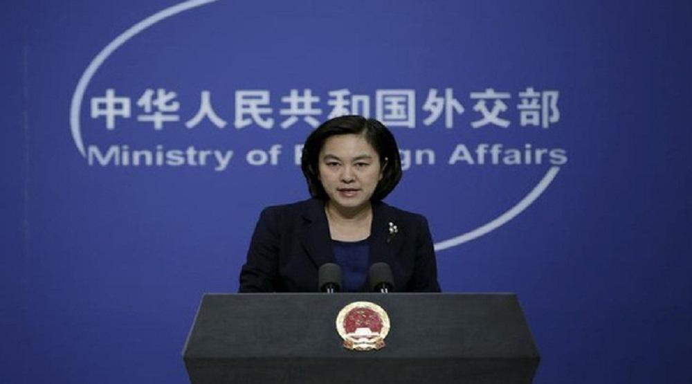 Người phát ngôn Bộ Ngoại giao Trung Quốc Hoa Xuân Oánh. (Ảnh: Reuters)