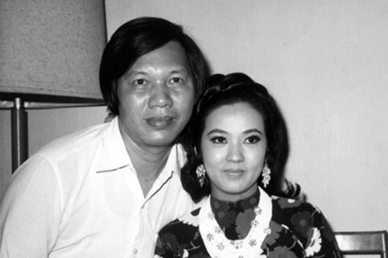 Nghệ sĩ Thanh Nga cùng chồng - ông Phạm Duy Lân - Ảnh: Tư liệu