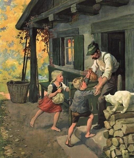 Dạy con biết trân quý sinh mệnh qua truyện cổ Grimm Hansel và Gretel.4