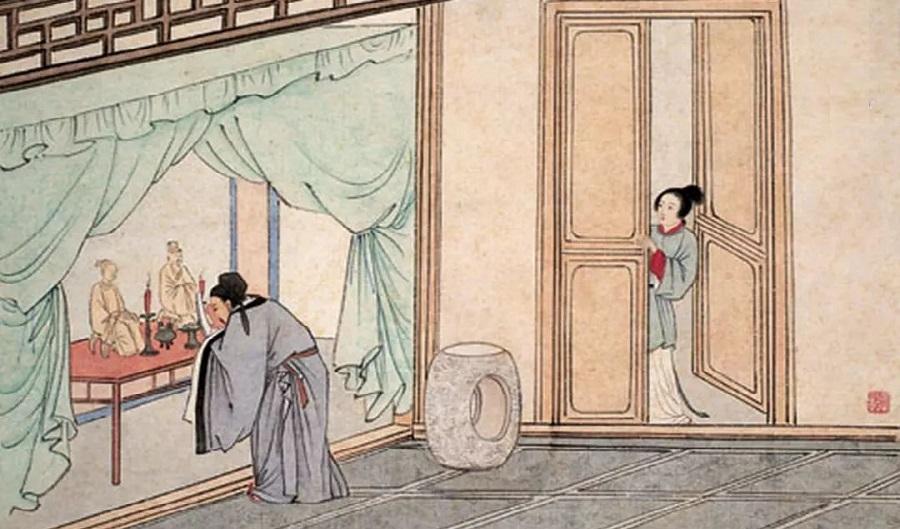 Thời xưa con cái phải để tang 3 năm sau khi cha mẹ mất.