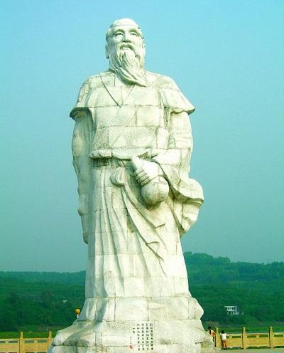 Tượng Ông Bành Tổ ở Trung Quốc. (