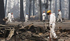 Số người mất tích trong vụ cháy rừng ở California tăng vọt
