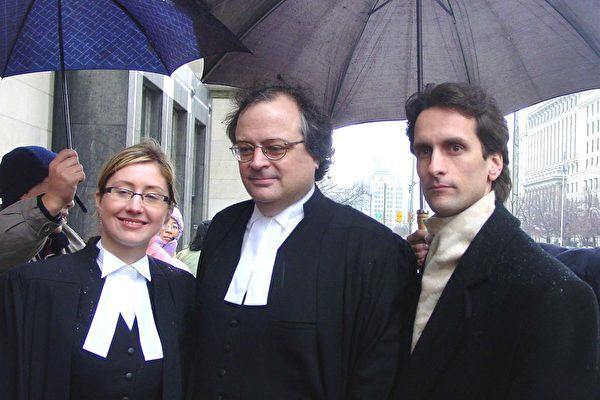 Con trai nhà tài phiệt bất động sản Canada: Joel Chipkar (ngoài cùng bên phải) (Ảnh: Epoch Times)
