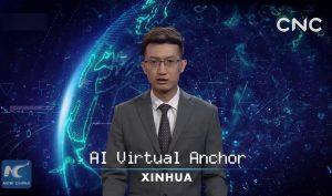 Trung Quốc tạo ra người dẫn chương trình AI đầu tiên trên thế giới