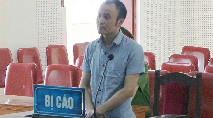 Bị cáo Lê Xuân Dương.