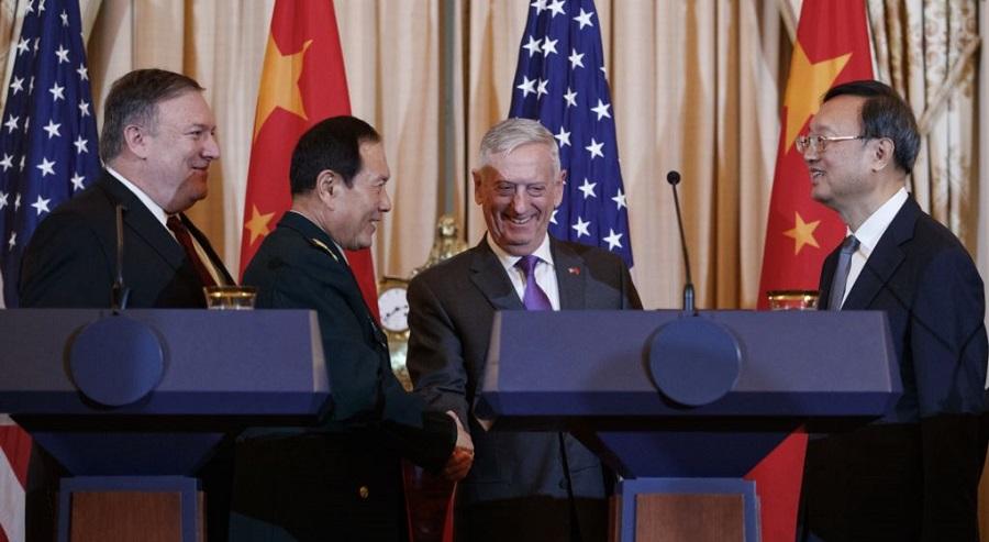 Mỹ kêu gọi Trung Quốc rút tên lửa khỏi quần đảo Trường sa. Ảnh 1