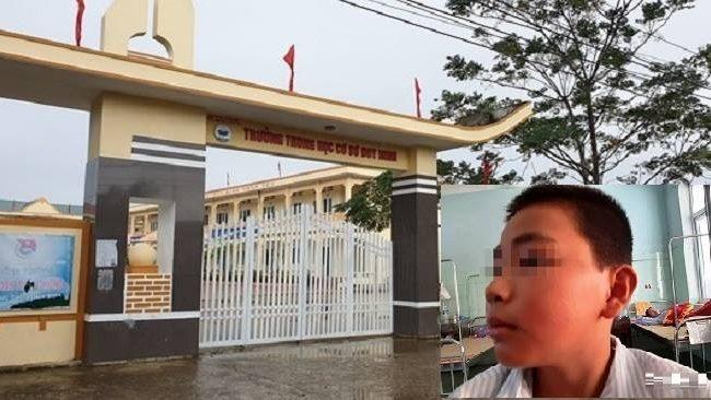 Nữ giáo viên trường Trung học ở Quảng Bình bắt học sinh tát bạn hơn 230 cái