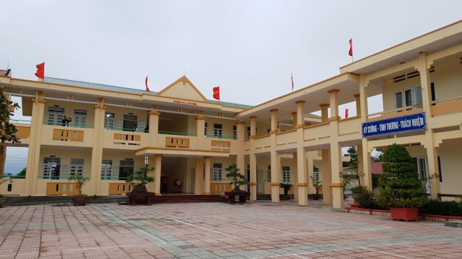 Trường THCS Duy Ninh. (Ảnh qua Báo Mới)