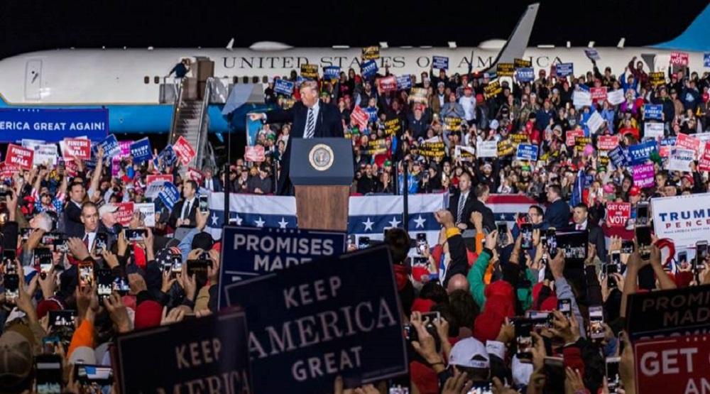 Ông Trump mạnh hơn sau cuộc bỏ phiếu tại Mỹ. (Nguồn: Internet)