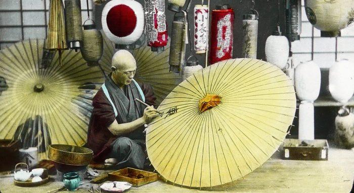 Phát triển nghề thủ công mỹ nghệ, Nhật Bản đang hướng về văn hóa truyền thống.1