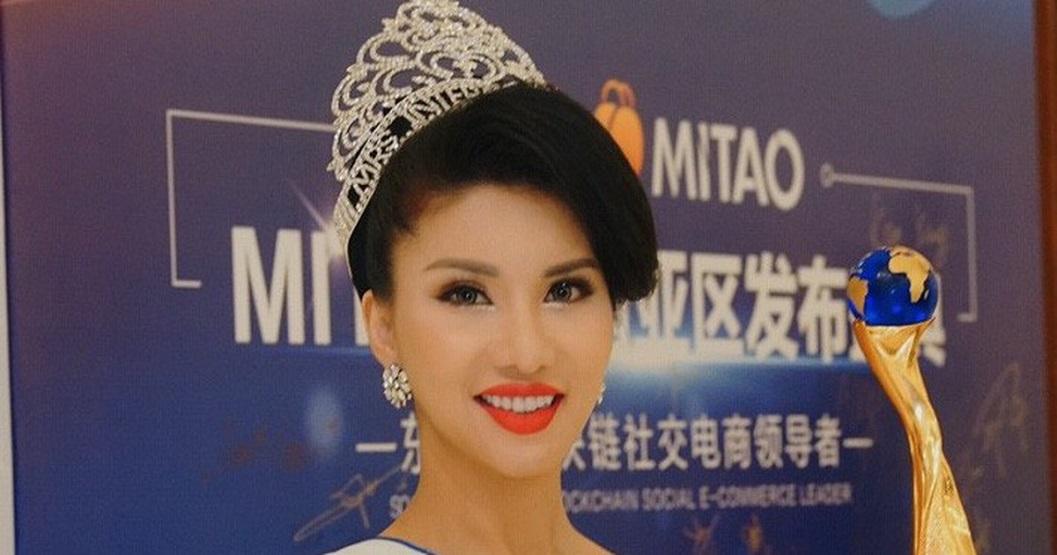 Loan Vương đăng quang Mrs International 2018. (Nguồn: Internet)