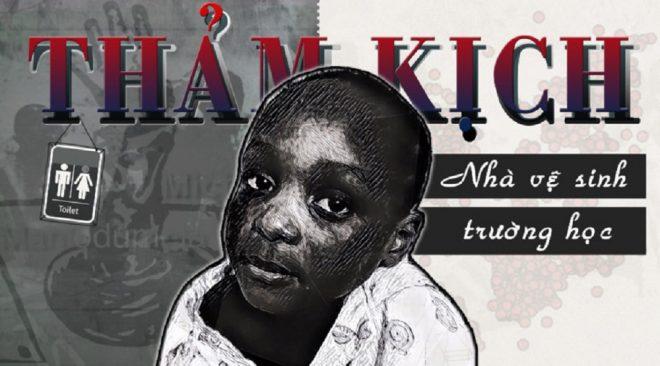 Thảm kịch nhà vệ sinh trường học và nỗi đau ám ảnh cả đất nước Nam Phi. 1