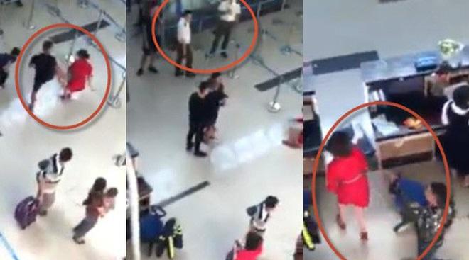 Bị từ chối chụp hình chung, con trai chủ tịch huyện đánh nữ nhân viên hàng không