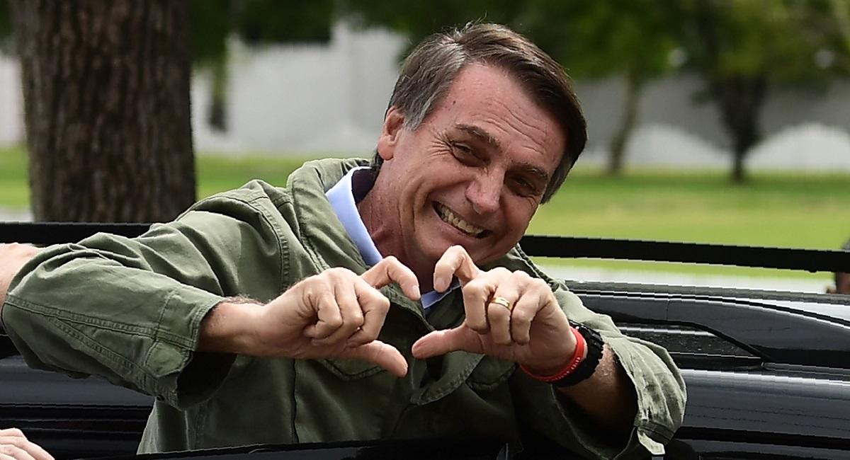 Tổng thống đắc cử của Brazil Jair Bolsonaro.