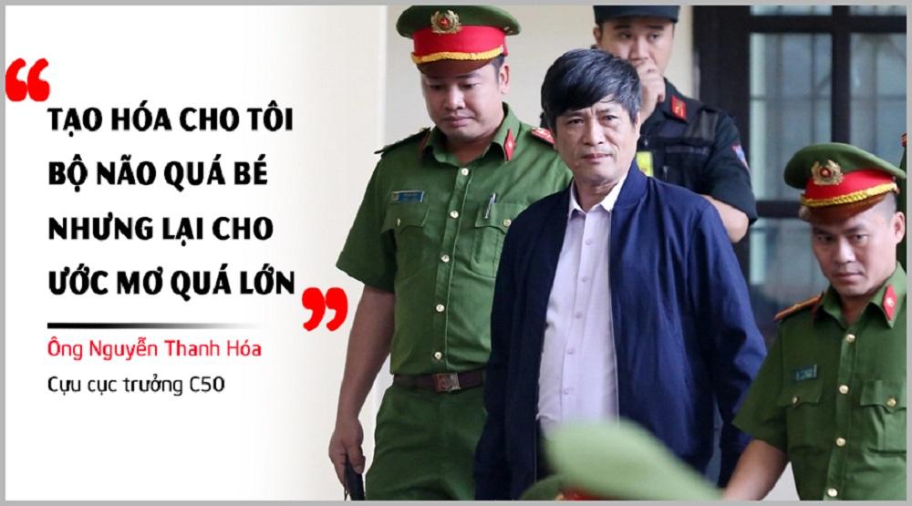 Bị cáo Nguyễn Thanh Hóa. (Ảnh: Internet)