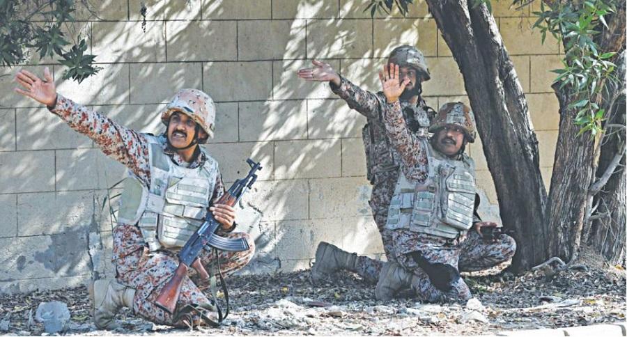 Lãnh sự quán Trung Quốc bị tấn công, 5 người thiệt mạng. Ảnh 1