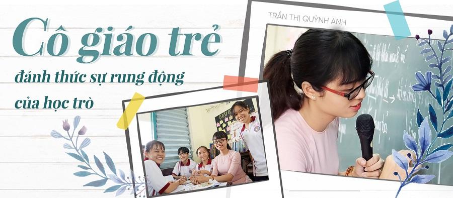 Cô giáo trẻ dạy học bằng tâm làm rung động học trò