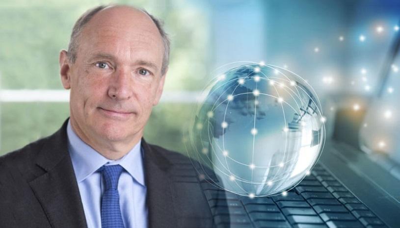 Nhà phát minh máy tính người Anh Tim Berners-Lee, cha đẻ World Wide Web.