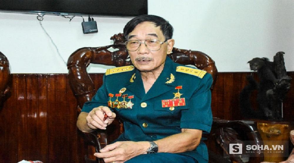 Đại tá Nguyễn Lành, Nguyên Sư đoàn trưởng Sư đoàn phòng không 375. (Ảnh: Internet)