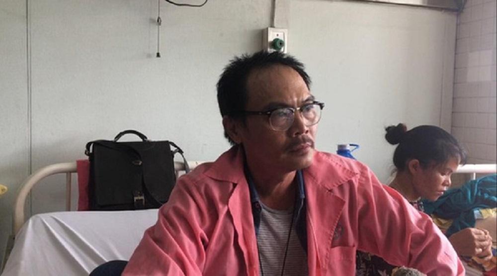 Đạo diễn Đặng Quốc Việt đang được theo dõi tại Bệnh viện Chợ Rẫy. (Nguồn: Internet0