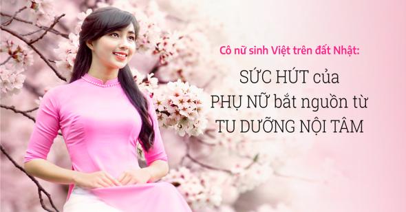 Lỗ Thị Mạnh: Bông hoa Việt ngát hương trên mảnh đất xứ sở hoa anh đào