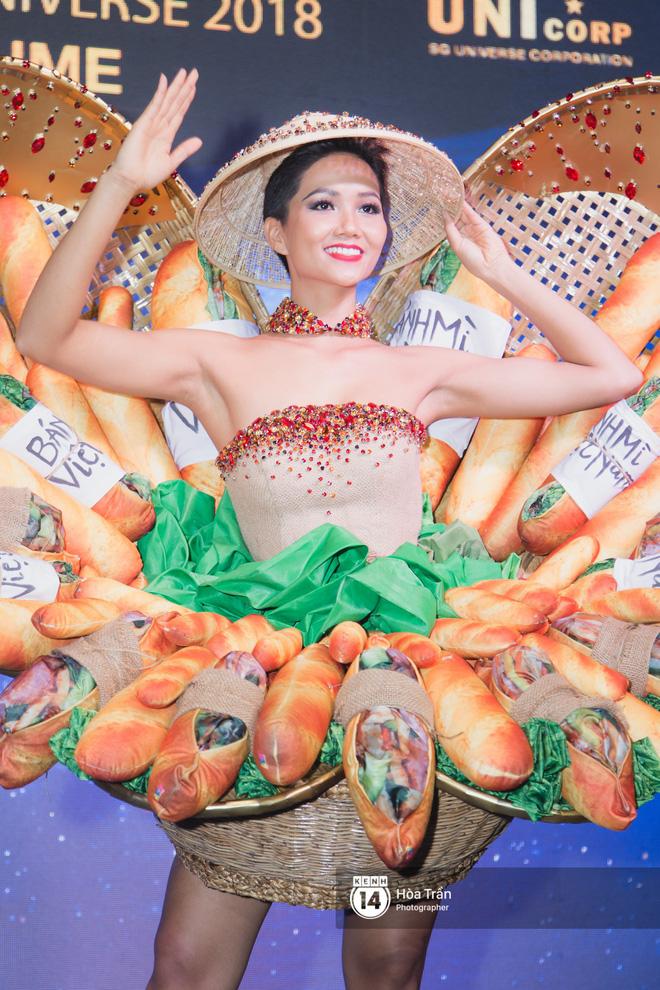"""H'Hen Niê sẽ mang bộ """"Bánh mì"""" là trang phục dân tộc đến đấu trường Hoa hậu Hoàn vũ. (Ảnh qua Kenh14.vn)"""
