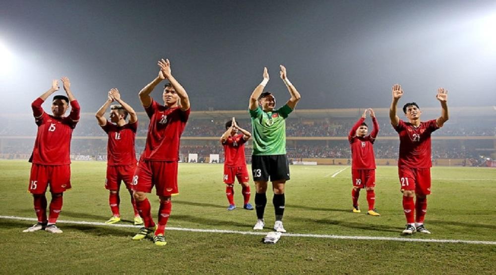 Tuyển Việt Nam vượt qua vòng bảng AFF Cup 2018 mà không để thủng lưới. (Ảnh: Internet)