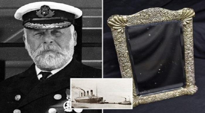 Gương của thuyền trưởng con tàu Titanic. (Ảnh: Internet)