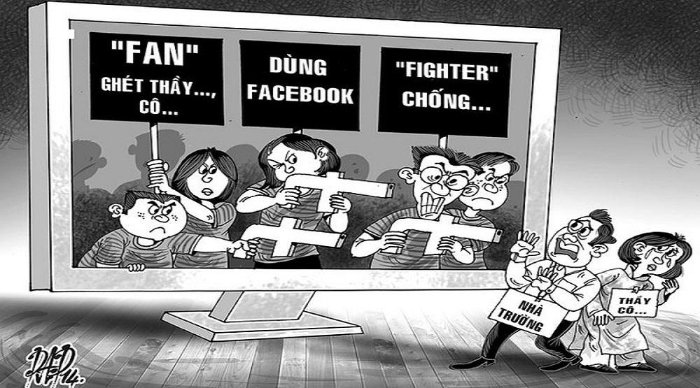 Sự xuống dốc đạo đức trong cấp bậc thầy - trò: (Nguồn: Internet)