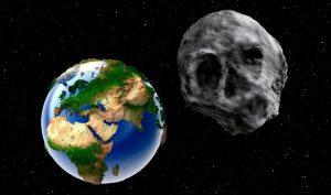 Thiên thạch hình đầu lâu thăm Trái Đất ngay dịp Halloween