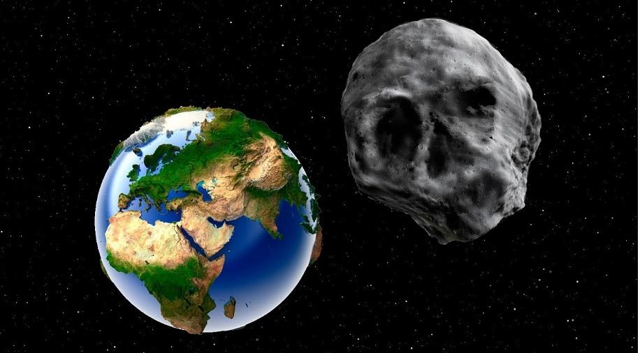 Một vị khách từ bên ngoài hệ mặt trời ghé thăm Trái Đất vào dịp Halloween.