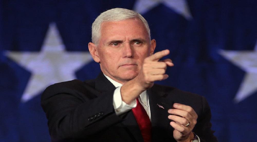 """Phó Tổng thống Mỹ Mike Pence đưa ra phương án triệt tiêu """"Vành đai và Con đường"""".(Ảnh: Internet)"""