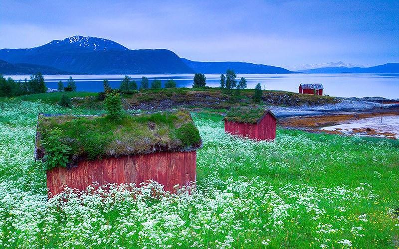 Cảnh sắc tuyệt đẹp ở Na Uy.(Nguồn: Internet)