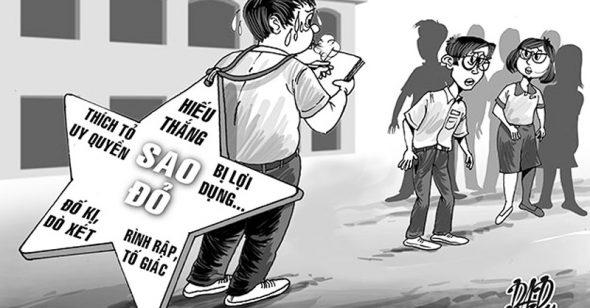 Từ vụ học sinh bị tát 231 cái vì bị 'tố cáo': Đã đến lúc dẹp bỏ đội 'sao đỏ'?