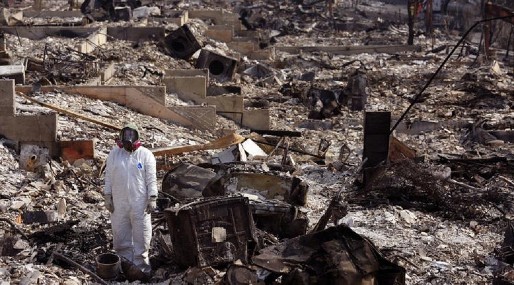 Thảm họa cháy rừng ở California. (Ảnh qua Internet)