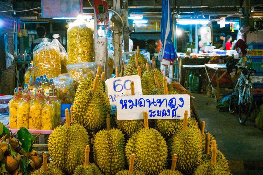 Có đến 80% lượng sầu riêng Thái mượn đường Việt để vào thị trường Trung Quốc. (Nguồn: Internet)