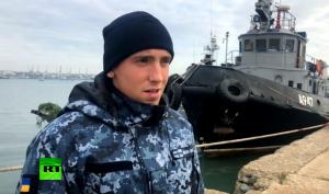 Thủy thủ tàu chiến Ukraine bị bắt thừa nhận xâm phạm lãnh hải Nga