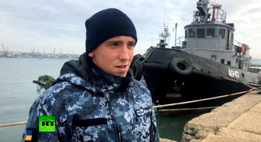Thủy thủ tàu chiến Ukraine bị bắt thừa nhận xâm phạm lãnh hải Nga. Ảnh 1