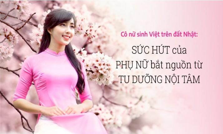 Lỗ Thị Mạnh: Bông hoa Việt ngát hương trên mảnh đất xứ sở hoa anh đào.1